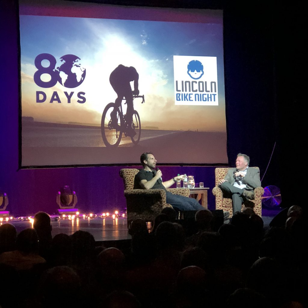 Lincoln Bike night with Mark Beaumont