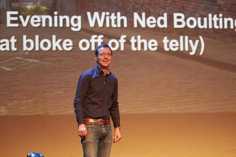 Ned Boulting Lincoln Bike Night
